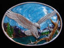 Ladies Eagle Belt Buckle