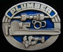 Colored Plumber Belt Buckle