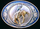 Bronco Rider Belt Buckle