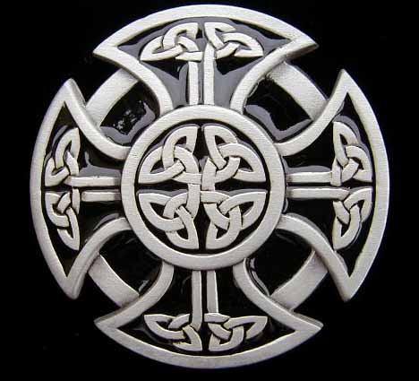 Celtic Belt Buckles Hand Poured Fine Pewter