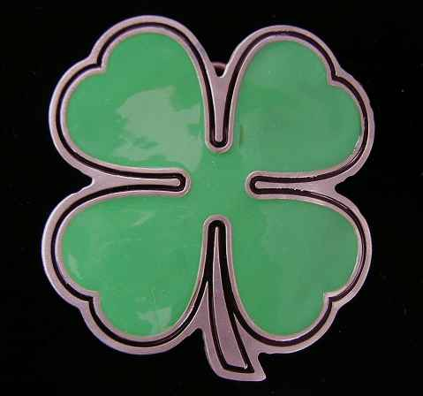 "4602E 4 Leaf Clover 2 3/4"" by 2 3/4"" $14.95"