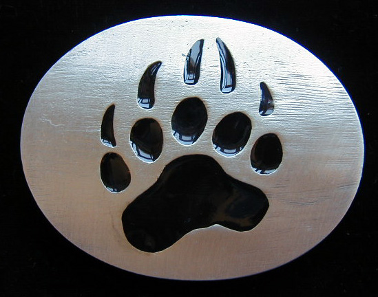 bear claw tattoo. A-7E Bear Paw 3 1/8quot; by 2 1/2quot;