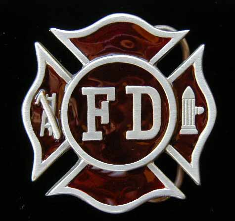 Many firemen around the world have the Maltese cross tattoo.