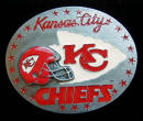Kansas City Chiefs Belt Buckle