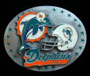 Miami Dolphins Belt Buckle