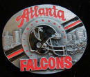 Atlanta Falcons Belt Buckle