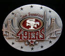San Francisco Forty Niners Belt Buckle