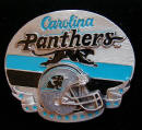 Carolina Panthers Belt Buckle