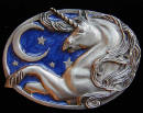 Colored Unicorn Belt Buckle